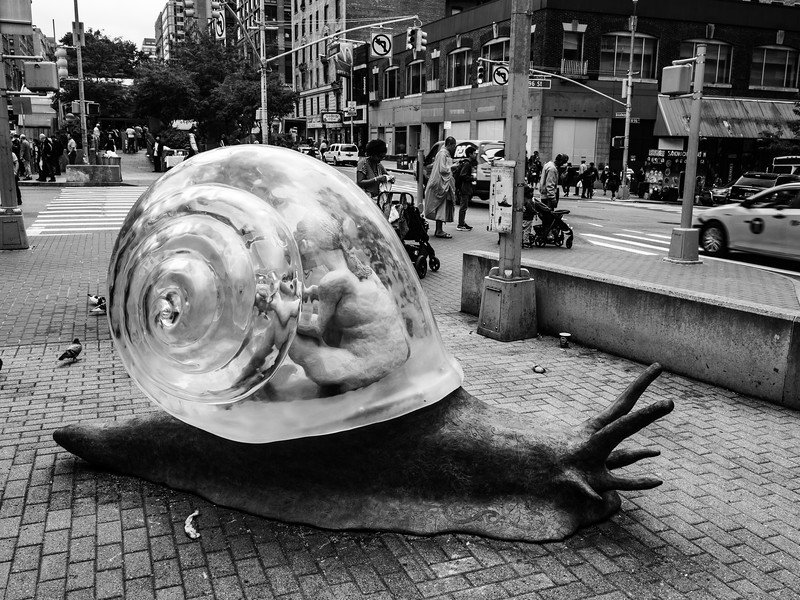 """Snail's Pace"" (96th St.)"