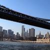 Lower Manhattan from under the Manhattan Bridge