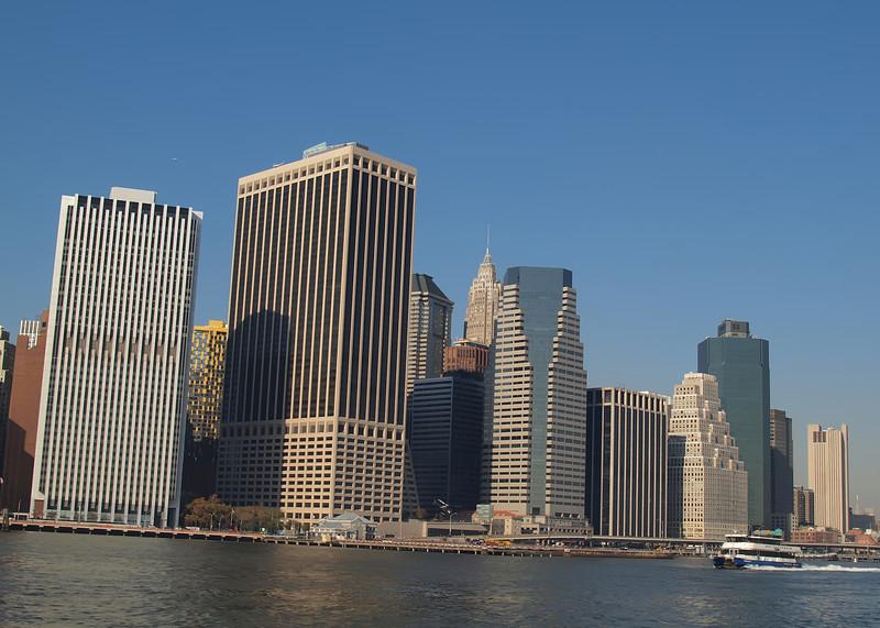 Lower Manhattan Financial District