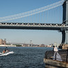 Manhattan Bridge, Williamsburg Bridge in Background