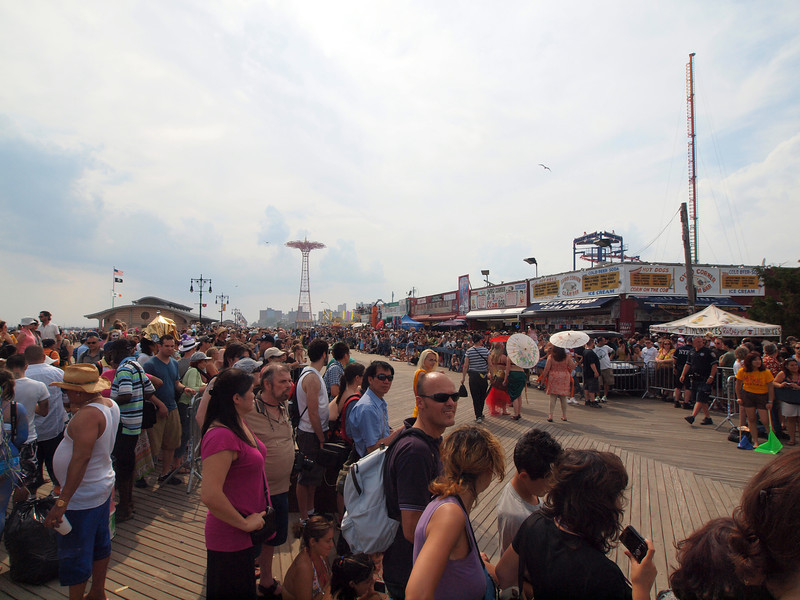 Mermaid Parade onConey Island Boardwalk