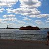 Statue of Liberty and Staten Island Ferry from Governors Island