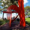 Mark di Suvero sculpture, Governors Island