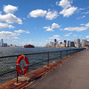 View of NY Harbor from Governors Island