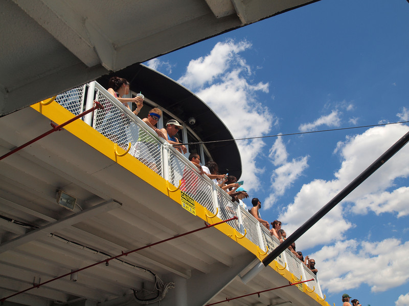 The Governors Island Ferry