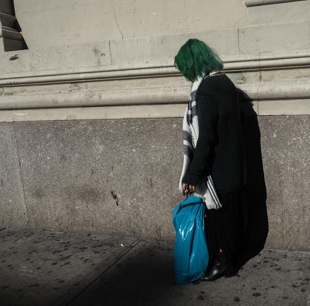Woman on 14th Street