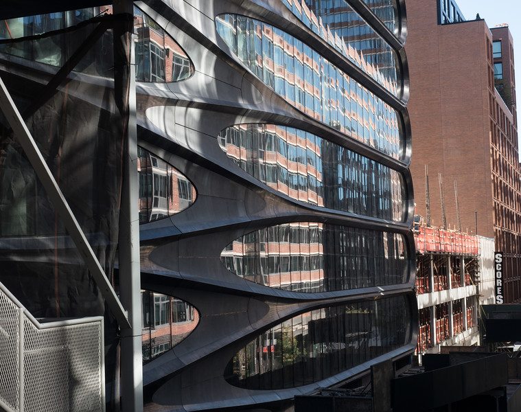 New Hadid building on the High Line