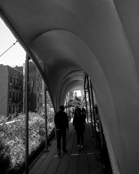 High Line walk shelter