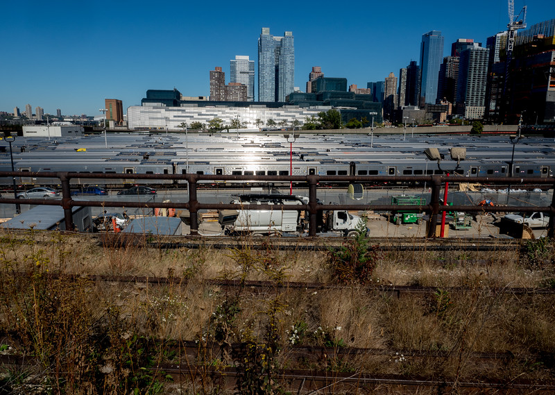 Hudson Yards Trains