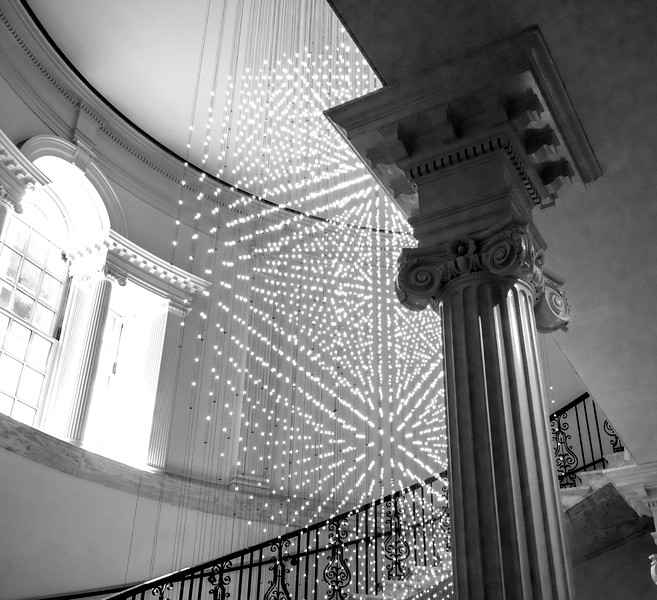 Light Sculpture in the Museum of the City of New York
