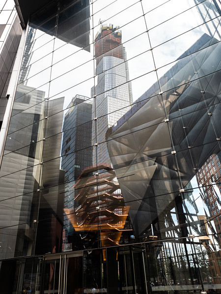 Reflections of Hudson Yards