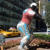 Niki de saint Phalle sculpture, Park Avenue