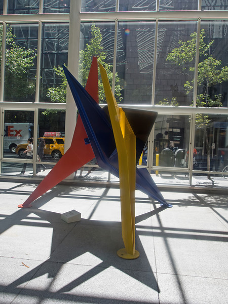 Calder sculpture in IBM Atrium