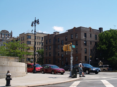 Apartment Buildings from Grand Concourse