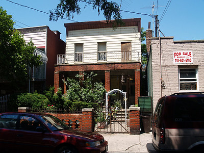 House near Arthur Avenue