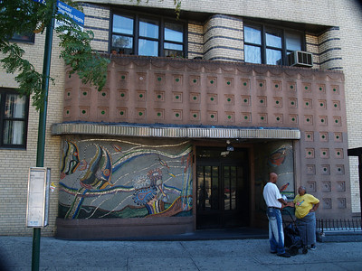 Art Deco Facade - Grand Concourse