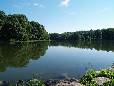 Van Cortlandt Park Lake, the Bronx