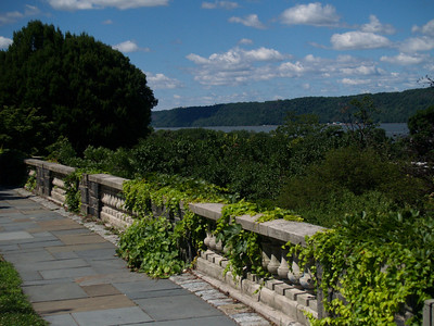 Hudson River and Palisades from Wave Hill