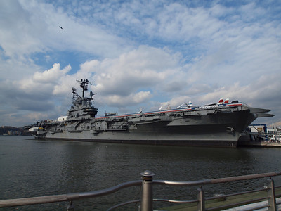 The Intrepid Museum.