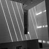 Light pattern on the MOMA atrium.