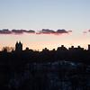 Sunset for Vinny's window.