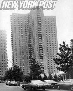 One of the Buildings Comprising Co-Op City. 1975
