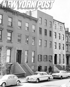 Newly done over homes on Amity St.  1962