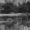 """The Pond"" in Central Park in the late 1970's"