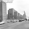 Street View Of NYC Housing Stuyvesant Town. 1956.