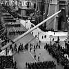 1939 Street Scene of the St. Patrick's Day Parade in New York City