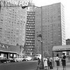 View of Building 1470 Amsterdam Avenue. 1962.
