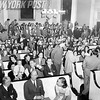 Stuyvesant  Town Resident Wait In Board Of Estimate Hearing Room. 1952.