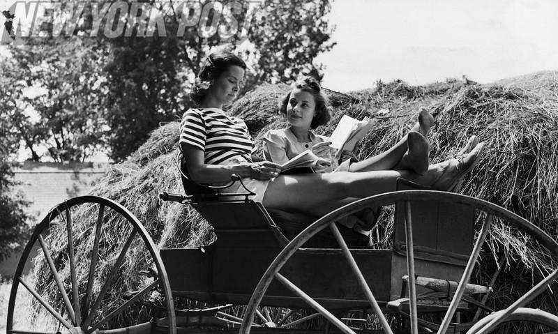 Jones Beach. Vintage HAY-HAY NOT BROADWAY 1939.