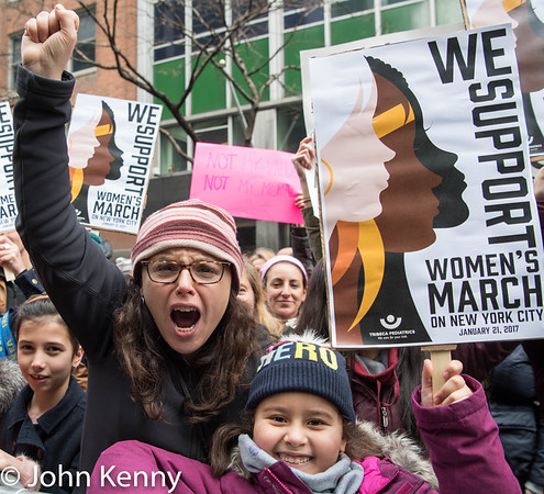 NYC Women's March 1/21/17