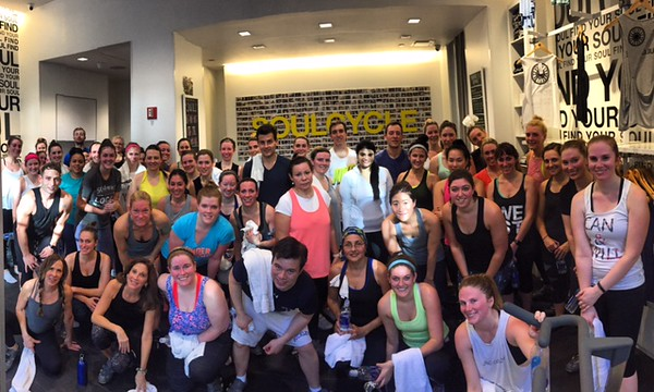 1st SoulCycle Charity Ride