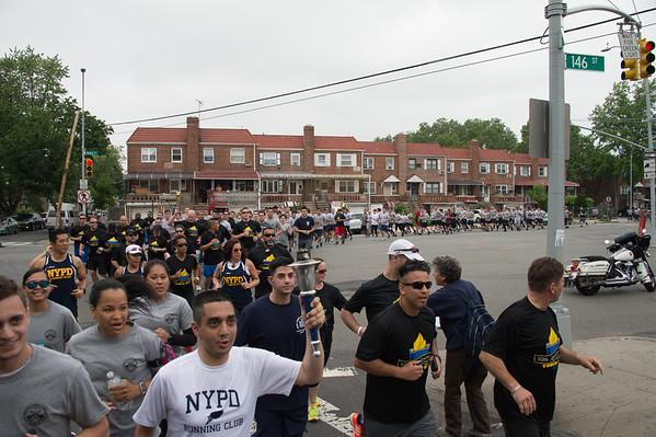 2016 NYC Law Enforcement Torch Run