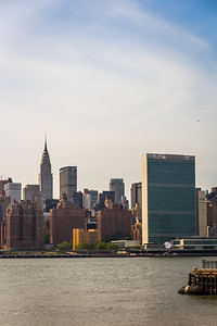 Chrystler Building and UN