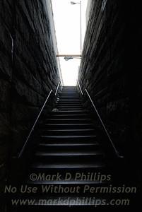 Brooklyn Bridge staircase