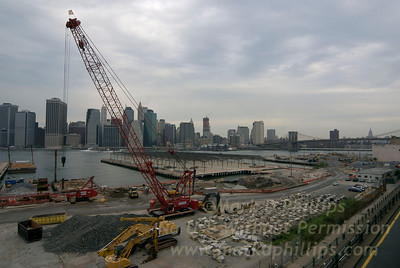 Brooklyn Bridge Park Construction