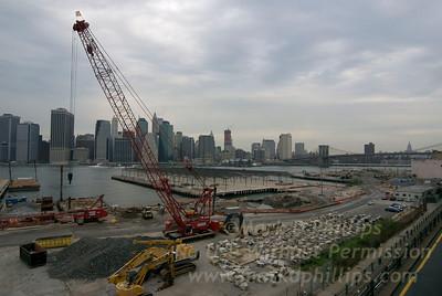 Brooklyn Bridge Park Construction