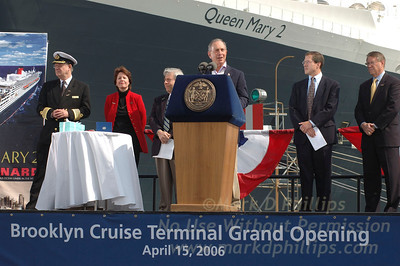 Michael Bloomberg and the QM2