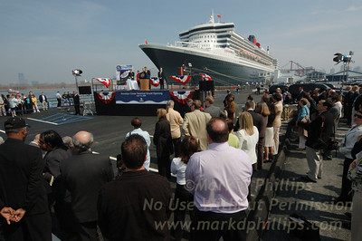 Queen Mary 2 Inaugural Visit