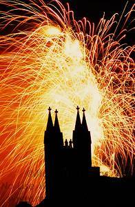 Court Street Fireworks