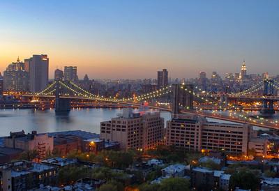 DUMBO to Manhattan