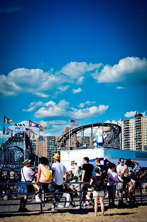 Coney Island/Mermaid Parade 2012