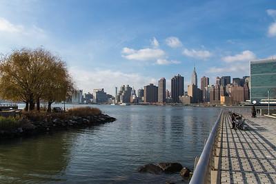 Gantry Park NY & Hamilton Park NJ