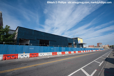 Whole Foods building under construction at the corner of Third Avenue and Third Street looking toward the Third Street drawbridge over the Gowanus Canal in Brooklyn, NY, in 2013. Just months before, the site had been flooded by the Canal during Hurricane Sandy..
