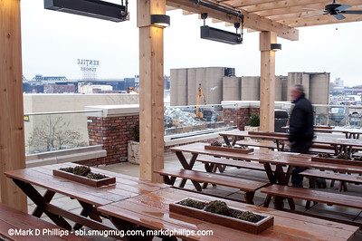 Whole Foods opens in Brooklyn at Third and Third on the Gowanus Canal with a deck that overlooks the Fourth Street Basin. The grain terminals would disappear within the year.