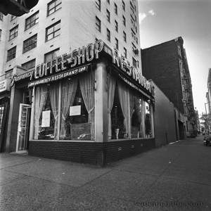 Gramercy Coffee Shop on the South West corner of 3rd Avenue and 17th Street from September 1978.