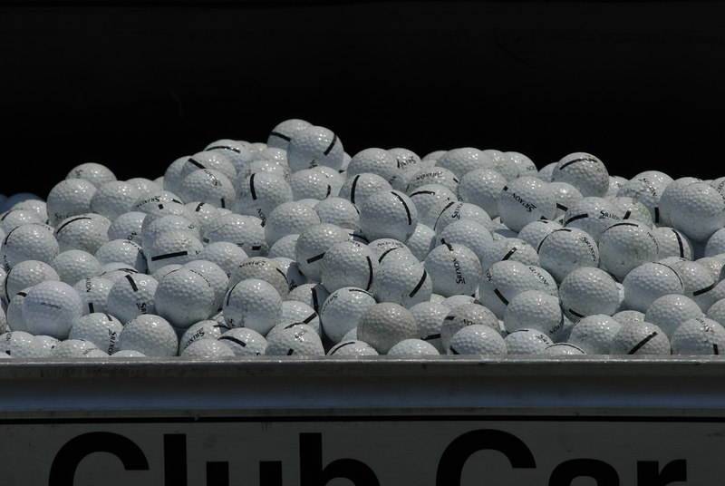 Golf Balls Chelsea Piers